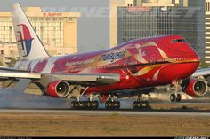 Malaysia Airlines 9M-MPD Boeing 747-4H6
