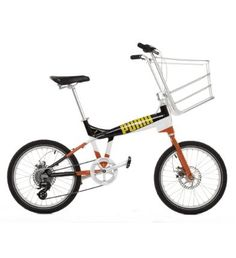 PUMA Bike - Pico Special Edition designed by Biomega. Urban Bike with a big basket!