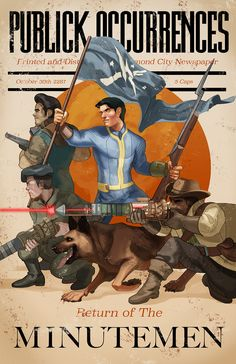"lychii: "" my other fallout 4 print from sacanime! idk why i waited so long to…"