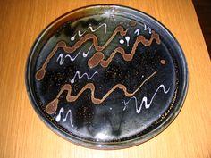 Cheese plate, Lynn Fox Ceramics