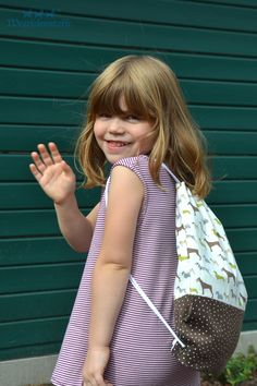 Turnbeutel seitlich Cute Winter Outfits, Polka Dot Top, Clothes For Women, Sewing, Diy, Fashion, Tela, Bags Sewing, Sewing For Kids