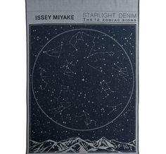 イッセイ ミヤケ、12星座を織り込んだデニム発売 | Fashionsnap.com