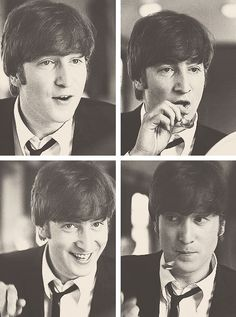 That's not the way you put a spoon in your mouth John!
