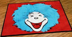 Thing 1 rug The Cat In The Hat Cuddle Room- Intl. Quilt Market Spring 2012