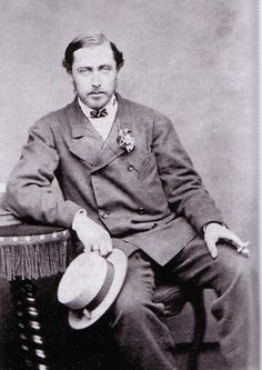 The Prince Alfred, Duke of Edinburgh and Duke of Saxe-Coburg and Gotha, second son of Queen Victoria.