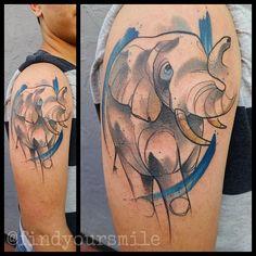 Elephant by Russell van Schaick