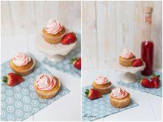 beschwipste Erdbeer-Cupcakes: Marylicious