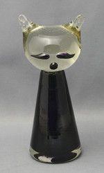 Kissa, Jacobino, Kumela Kosta Boda, Glass Design, Finland, Glass Art, Cats, Gatos, Kitty Cats, Jar Art, Cat Breeds
