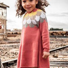 Perfect days ウェーブニットワンピース- 海外のおしゃれでかわいい子供服通販のセレクトショップ│Peach Baby