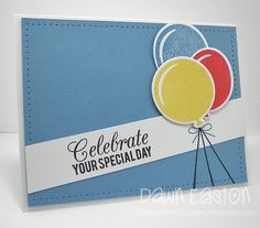 Celebrate Your Special Day - FMS94 by TreasureOiler - Cards and Paper Crafts at Splitcoaststampers