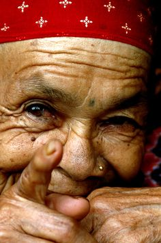 The Beauty of Old Age #OldLady #Photography