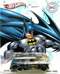 Hot Wheels 2012 DC Comics Originals BATMAN 1955 Panel Truck 1:64 Scale