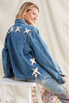 Shop Urban Renewal Recycled Corset Denim Jacket at Urban Outfitters today. We carry all the latest styles, colors and brands for you to choose from right here.