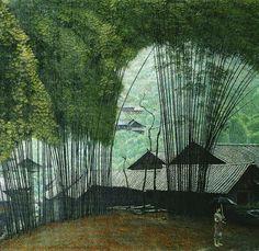 細膩繁複的中國油畫作品 簡崇民 » ㄇㄞˋ點子靈感創意誌