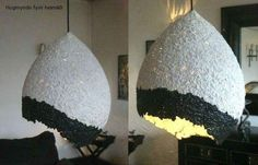 We made a Lamp from a Balloon and Paper Mache. Step by step tutorial!