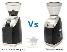 Baratza Virtuoso vs Virtuoso Plus - See which should be your pick Maker Labs, Digital Timer, Cooking Appliances, Turkish Coffee, Wood Cutting, Keurig, Coffee Beans, Espresso Machine, Are You The One