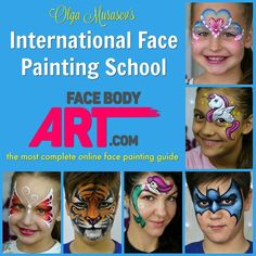 My dear painty friends I am so thrilled to finally announce that the project I have been working at for almost two years is ready! The International Face Painting School will open its doors this February!   International Face Painting School  is the Ultimate online face painting guide to get pro skills without confusion.  Years of teaching private workshops all over the world and analysis of teaching techniques helped me create this unique course that can help any face painter in any part of…