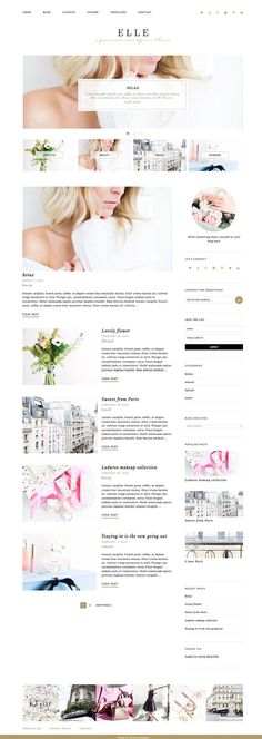 Wordpress Theme Wordpress Ecommerce Theme by EclairDesign on Etsy