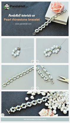 DIY Beaded Bracelets DIY Beaded Bracelets You Bead Crafts Lovers Should Be Making Photo by DIY Projects Making custom bracelets is fun, especially when you Seed Bead Jewelry, Bead Jewellery, Jewelry Making Beads, Pearl Jewelry, Wire Jewelry, Jewelry Bracelets, Chain Bracelets, Macrame Jewelry, Glass Jewelry