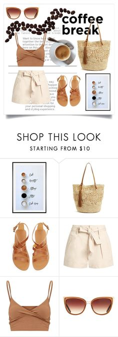 """""""Coffee break"""" by helena-cy ❤ liked on Polyvore featuring Pottery Barn, Nordstrom, Étoile Isabel Marant and Barton Perreira"""