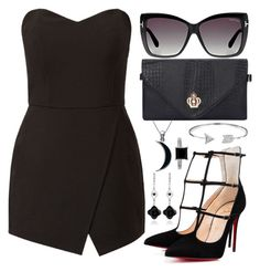 """Black Paradise"" by joslynaurora ❤ liked on Polyvore"