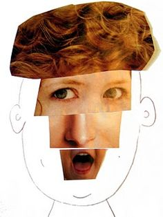 funny face collage