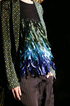 via fashionedbylove: Dries van Noten Lente / Zomer 2015 prêt-à-porter   Paris Fashion Week   #PFW