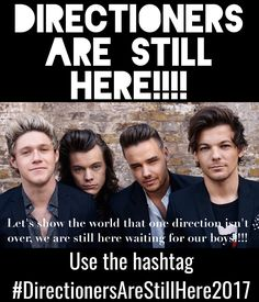 #DirectionersAreStillHere2017 we will ALWAYS be here for the boys no matter what