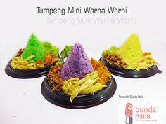 Resep Nasi Tumpeng Warna Warni
