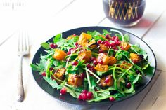 Arugula and Roasted Butternut Squash Salad