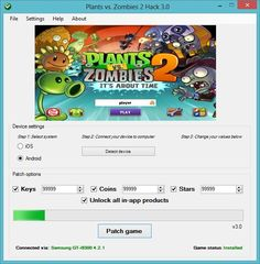 Here is what you searched - Plants vs. Zombies Hack – Coins Generator. The 2017 version of Plants vs. Zombies Hack – Coins Generator finally working.