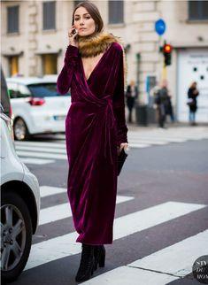 c505f9e87174e 6 Secrets to Wearing Velvet Stylishly