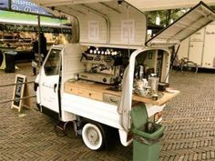 #Coffee #cart services by @changeplease to make you always fresh in the morning.