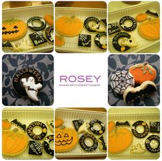 ROSEY'S HALLOWEEN COOKIE LESSON OCT 2009-1 by rosey sugar, via Flickr