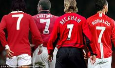 Welcome to SuppaSports's Blog.: I was petrified of Beckham's No.7 shirt,says Crist...