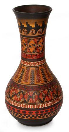 Ceramic Pottery, Pottery Art, Ceramic Art, Slab Pottery, Thrown Pottery, Pottery Studio, Ceramic Bowls, Bottle Painting, Bottle Art