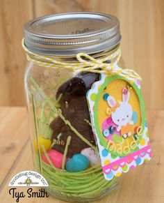 Bunnyville Collection: Mason Jar Shaker Tags with Tya