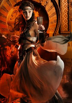 Cover art by Larry Rostant for the french edition of THE BITTER KINGDOM by Rae Carson.