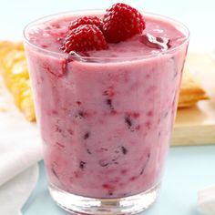 This yummy red smoothie is made with raspberries, cherries and is a great smoothie for weight loss. Red Smoothie Recipe from Grandmothers Kitchen. The newest method in Absolutely safe and easy! Raspberry Smoothie, Yummy Smoothies, Juice Smoothie, Smoothie Drinks, Yummy Drinks, Healthy Drinks, Smoothie Recipes, Juice Cup, Drink Recipes