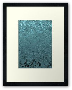 Framed Grunge Relief Floral Abstract #Redbubble #Framed #Grunge #Relief #Floral #Abstract