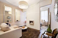 Дизайн квартиры-студии прямоугольной планировки