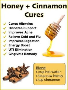Honey and Cinnamon Benefits and Natural Cures