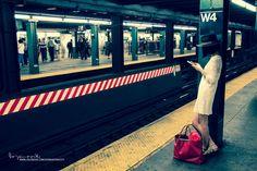 Photograph A girl at West 4th Street Station by Bobi Dojcinovski on 500px