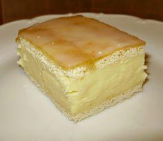 Čistinkina vareška: Žĺtkové krémeše Czech Desserts, Sweet Recipes, Yummy Recipes, Cake Cookies, Catering, Cheesecake, Pie, Yummy Food, Favorite Recipes