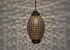 Buy authentic Moroccan hanging lamps made from high quality brass & created to enhance home decor. Hand-crafted Moroccan hanging lamp at incredible prices! Brass Ceiling Light, Kitchen Ceiling Lights, Kitchen Lamps, Brass Lamp, Kitchen Lighting, Moroccan Hanging Lanterns, Moroccan Lighting, Moroccan Lamp, Hanging Lamps