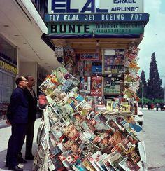 Kiosk in Athens, Athens City, Athens Greece, Villa Margarita, Old Photos, Vintage Photos, Greece History, Greek House, Good Old Times, Best Memories