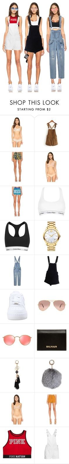 """Untitled #2006"" by makeupbylibby ❤ liked on Polyvore featuring Eberjey, Sam&Lavi, Commando, KAS New York, Calvin Klein Underwear, Calvin Klein, Movado, ASOS, NIKE and Ray-Ban"