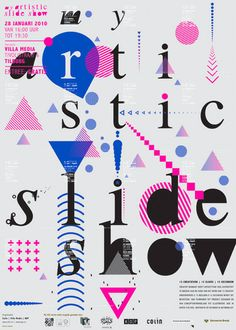 myartisticslideshow poster by staynice