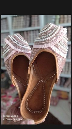 Sneakers Fashion, Fashion Shoes, Half Shoes, Indian Shoes, Cinderella Shoes, Superstars Shoes, Bling Shoes, Bridal Shoes, Beautiful Shoes