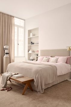 Bedroom, H&M Home 2018. Ideas how to decorate with the biggest trends 2018.